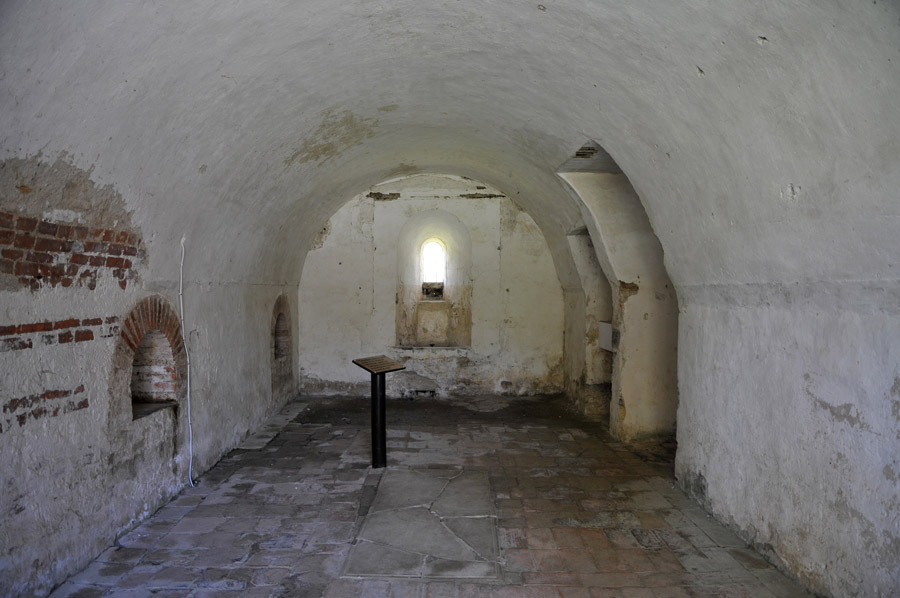 Sacristie - Abbaye de l'Escaladieu